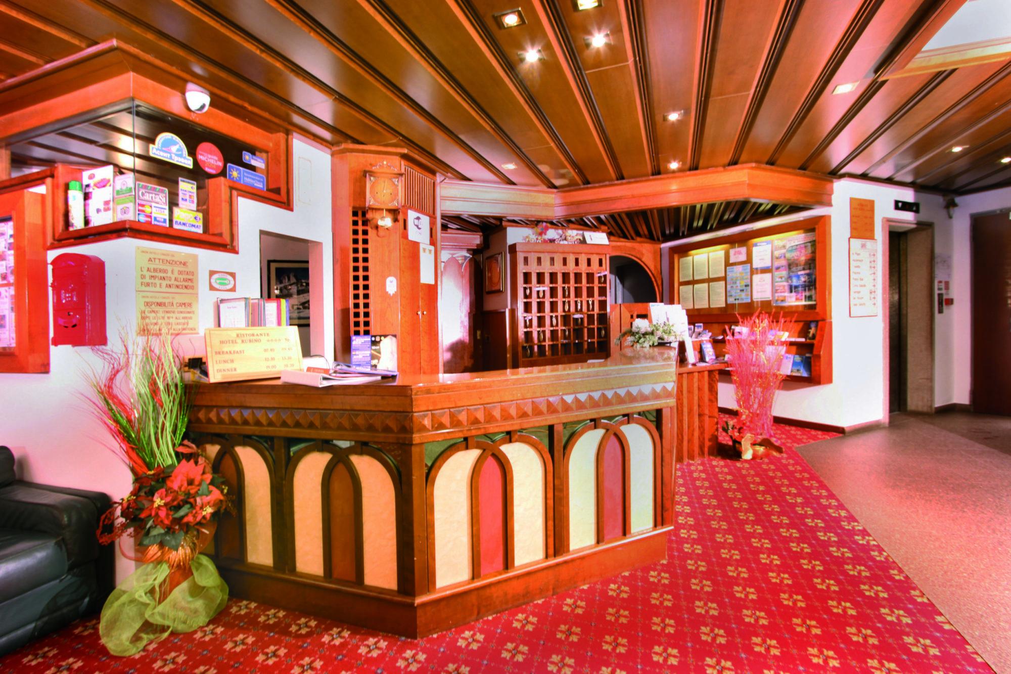 7 Hotel Rubino - Reception